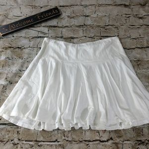 Old Navy Soft White A- line Skirt size Small